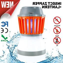 Odar 2-In-1 Bug Zapper & Camping Lantern - Rechargeable LED