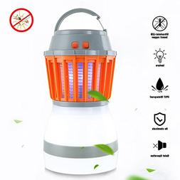 GUSTYLE 2-IN-1 Bug Zapper Mosquito Killer & Camping Lantern