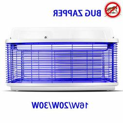 110V 16W/20W/30W Mosquito Killer Lamp Bug Zapper Insect Kill
