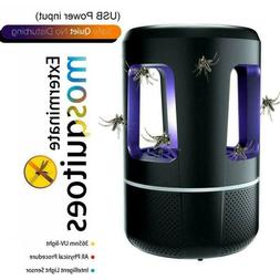 12V USB Mosquito Lamp Insect Fly Bug Zapper Trap LED Control