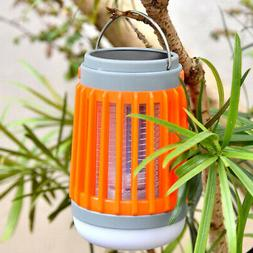 2 In 1 LED Lantern Bug-Zapper Mosquito Killer Rechargeable O