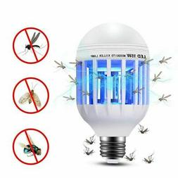 2 in 1 Light Zapper LED Light Bulb Bug Mosquito Fly Insect K