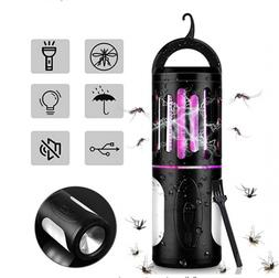 2-in-1 Rechargeable Mosquito Killer Torch Bug Zapper LED Lam