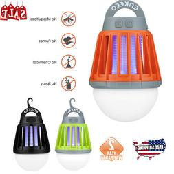 2000mAh Outdoor Camping Fly Trap Lantern Mosquito Zapper Bug