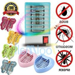 220V LED Bug Zapper Insect Zapper Electric Fly Swatter Lamp