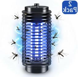 2 Pack Electric Mosquito Fly Bug Insect Zapper Killer LED Tr
