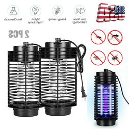2PCS Outdoor Mosquito Fly Bug Insect Zapper Killer Electric