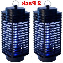 2x Electric Mosquito Fly Bug Insect Zapper Killer Trap Lamp