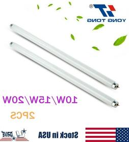 2X10W/15W/20W Replacement Bulb UV Tube Lamp Light For Mosqui