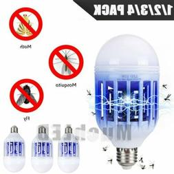3 in 1 Light Zapper LED Light Bulb Bug Mosquito Fly Insect K