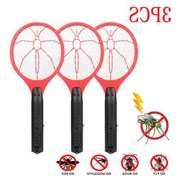 3Pack Cordless Bug Zapper Mosquito Insect Electric Fly Swatt