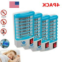4-Pack Indoor LED Bug Zapper Insect Killer Mosquito Fly Pest