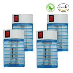 4X Insect Killer, Plug-in Bug Zapper Electric Mosquito gnat