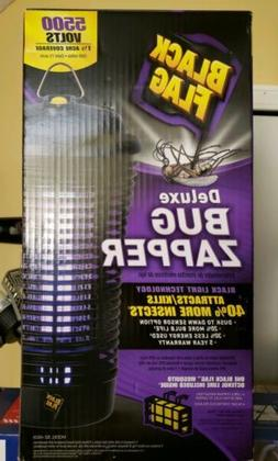 Black Flag 5500 Volt 40W Deluxe Bug Zapper Black Light Dusk