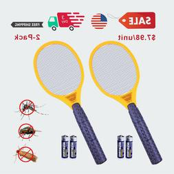 $7.98/unit Handled Electric Bug Zapper Mosquito Fly Swatter