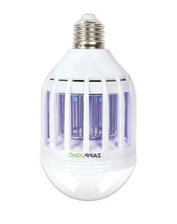 ZappLight LED 60W Bug Zapper Bulb by BulbHead Insect and Mos