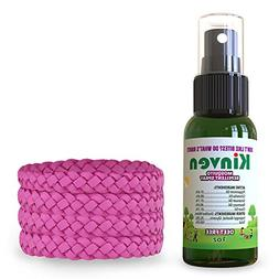 Kinven Anti Mosquito Repellent Bundle - Insect Wristband Rep