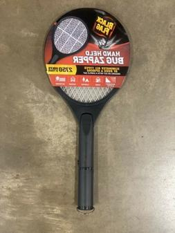 Black Flag Zapper Racket Black Great For Use Home 2750 Volts