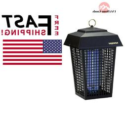 Flowtron Outdoor Bug Fighter Zapper 1 1/2 acre UV Black Ligh
