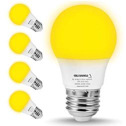 LOHAS Bug Light Bulb Yellow LED Bulbs, Outdoor Porch Lights,