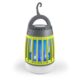 BATTOP Bug Zapper Outdoor, 3 in 1 Camping Lantern & Mosquito