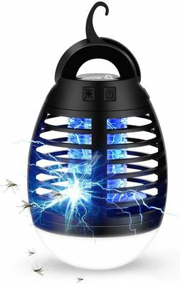Bug Zapper Camping Lamp Tent Light Bulb Portable Led Emergen