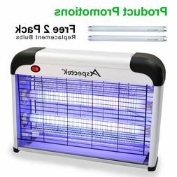Bug Zapper Electric Indoor Insect Killer Mosquito Fly w/ 2Pa