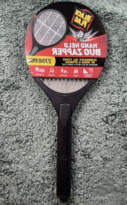 Bug Zapper Electric Mosquito Swatters Black Flag Hand Batter