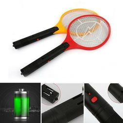 Bug Zapper Electric Tennis Racket Mosquito Fly Swatter Kille