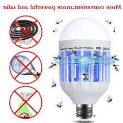 Bug Zapper Electronic Mosquito Moth Killer Trap Flying Pests