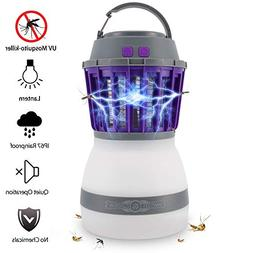 Bug Zapper Lamp-Mosquito Zapper Lamp-2-In-1 Zapper Lantern C