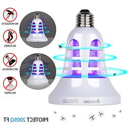 Auledio Bug Zapper Light Bulb -  2 in 1 Electronic Insect Ki