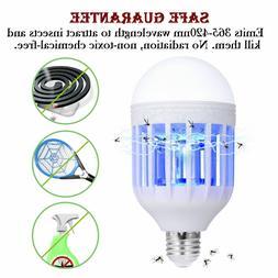 bug zapper light bulb mosquito lamp fly