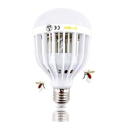 Bonlux LED Bug Zapper Light Bulb Medium Screw E26 Base 120V