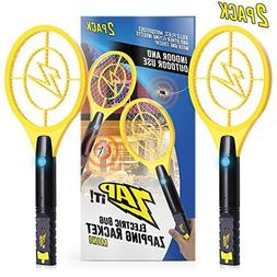 ZAP IT! Bug Zapper Mini Twin Pack - Rechargeable Mosquito, F