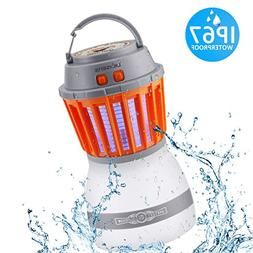 DILISENS Bug Zapper Mosquito Killer Camping Lamp 2 IN 1 Elec