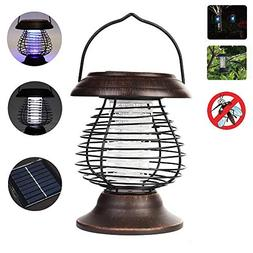 Longans Bug Zapper Mosquito Killer Camping Lamp 2 in 1 Elect