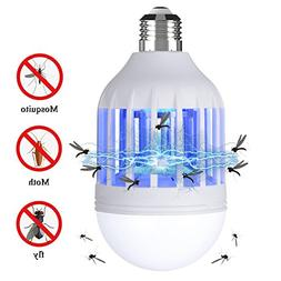 NONPEST Bug Zapper, 2 in 1 Mosquito Lamp, Electronic Fly Kil