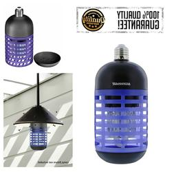 Bulb Type Cordless Insect Killer Bug Zapper UVA Tube Indoor