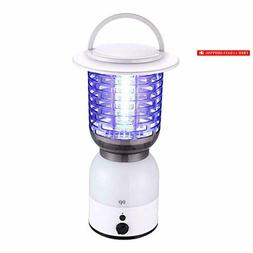 Miady Camping Bug Zapper Rechargeable 4000mAh Battery Powere