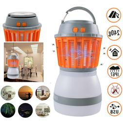 Camping Bug Zapper Tent Light-Waterproof Mosquito Killer Lig