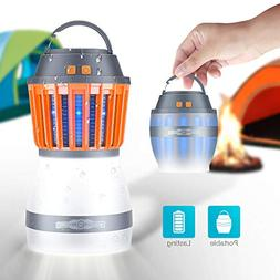FREDI Camping Lights with Bug Zapper Mosquito Repellent Func
