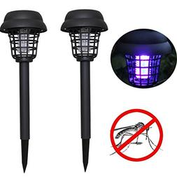 Clearance ! ❤️❤️Bug Zapper,ZTY66 New 2PC Solar Power