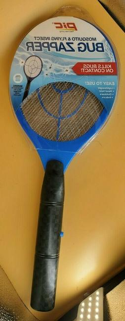 Electric Bug Zapper Racket Fly, Mosquito And Bug Swatter-By