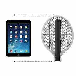 Electric Fly Swatter Zapper Fruit Fly Killer Portable Bug Ra