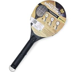 Electric Insect Killer Mosquito Fly Swatter Bug Zapper Handh