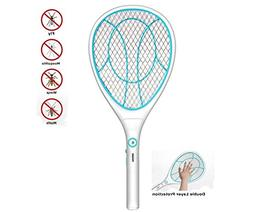 Electric Mosquito Fly Swatter Bug Zapper Bat Racket, Pests I