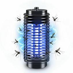 Electric Mosquito Moth Gnat bits Killer Trap Lamp LED Flying