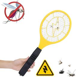 Electric Racket Fly Swatter Mosquito Bug Zapper Wasp Insect