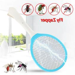 Electronic Bug Zapper Racket Mosquito Fly Swatter Insects Pe